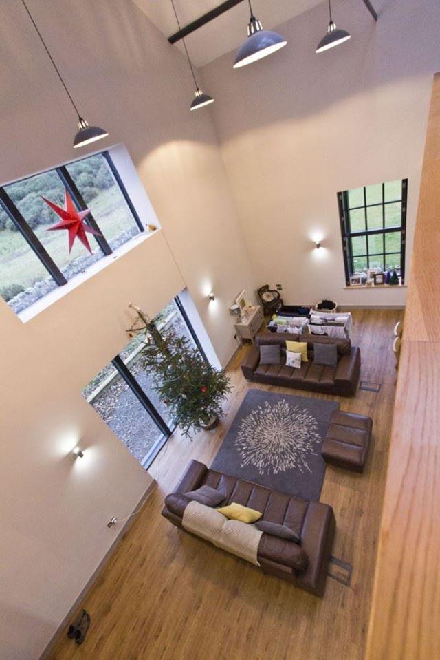 stobshiel over living room